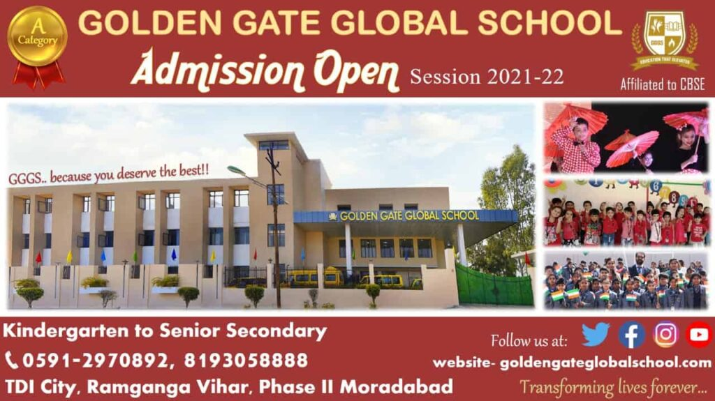 Admission Open Session 2021-22